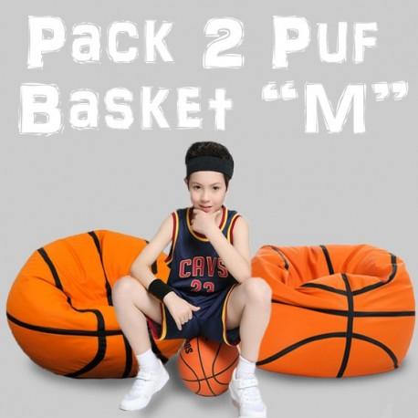 "Pack 2 PUFF Basket ""M"""