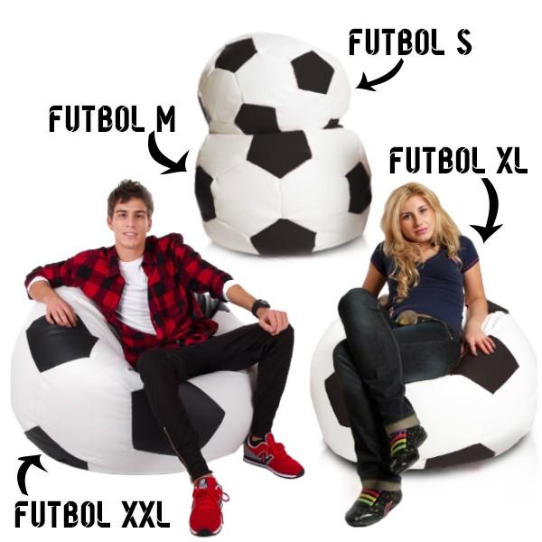 Puff Futbol (S, M, XL, XXL y XXXXL)