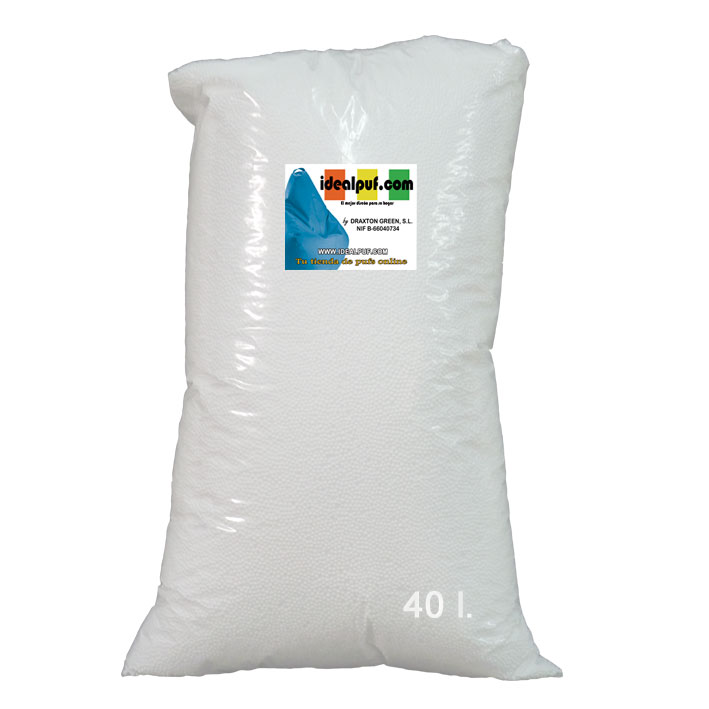 Relleno para PUFF 40 litros