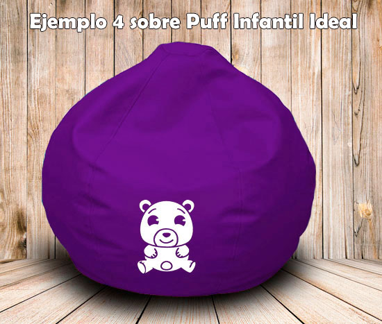 puff-infantil-personalización-osito
