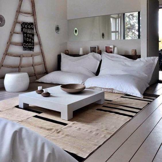Puffs para decorar apartamentos de verano y aparthoteles