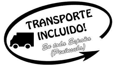 Envíos gratis en toda la Península. Envíos a Baleares y Canarias contactad al Tel. 626.217.216