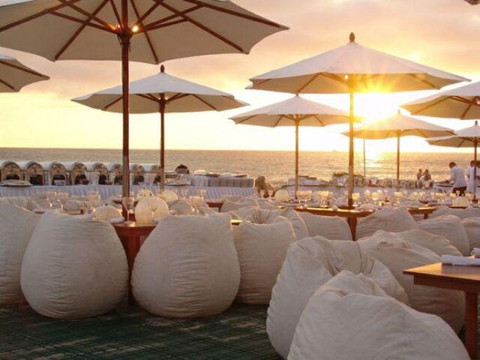 Puffs para eventos, restaurantes y bares