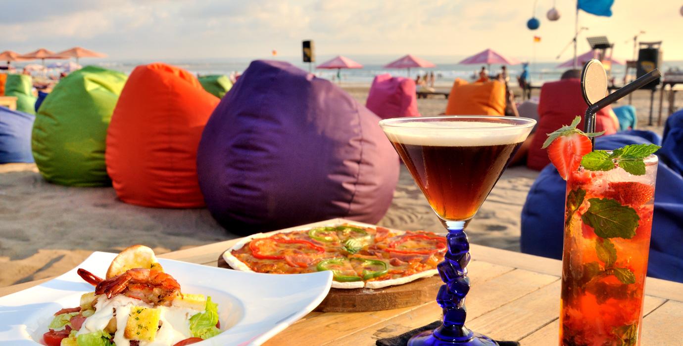 Puffs para restaurantes chill out en la playa